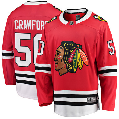 Corey Crawford Chicago Blackhawks Fanatics Branded Breakaway Player Jersey - Red