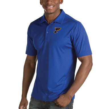 St. Louis Blues Antigua Inspire Desert Dry Polo – Royal