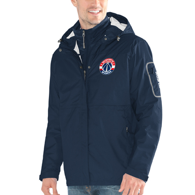 Washington Wizards G-III Sports by Carl Banks Acclimation 3-in-1 Systems Full-Zip Jacket – Navy