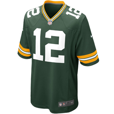 Aaron Rodgers Green Bay Packers Nike Game Jersey - Green фото