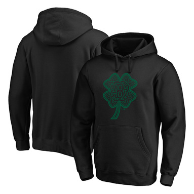 Boston Red Sox Fanatics Branded St. Patrick's Day Celtic Charm Pullover Hoodie - Black