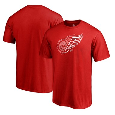 Detroit Red Wings Fanatics Branded X-Ray T-Shirt - Red