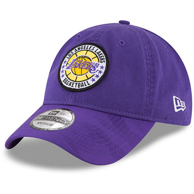 Los Angeles Lakers New Era 2018 Tip Off Series 29TWENTY Fitted Hat - Purple