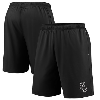 Chicago White Sox Fanatics Branded Primary Logo Shorts - Black/Gray