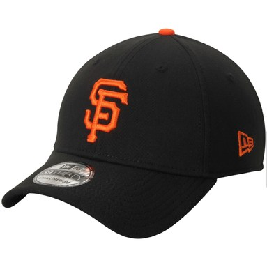 San Francisco Giants New Era Team Classic 39THIRTY Flex Hat - Black